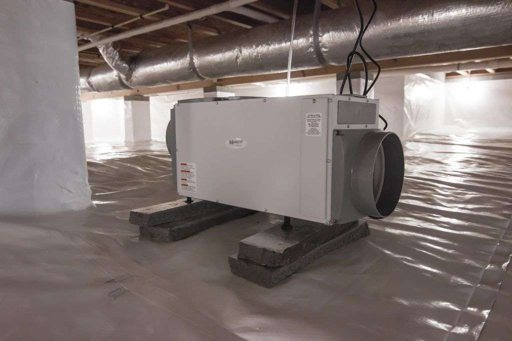 Dehumidifying A Large Space