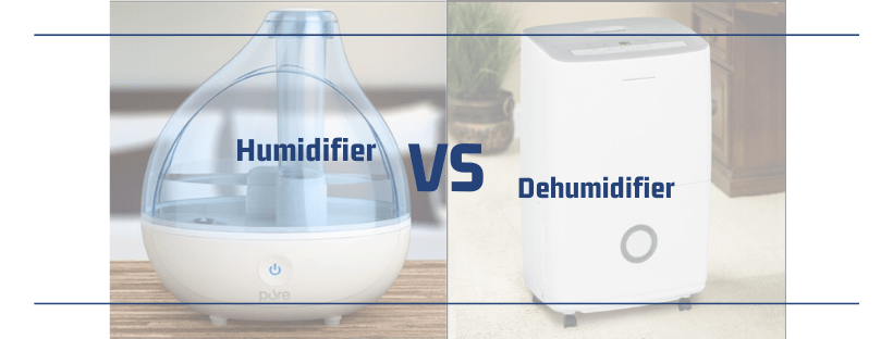 Humidifier vs Dehumidifier